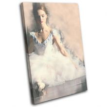 Ballerina Digi-Painting Abstract - 13-6053(00B)-SG32-PO